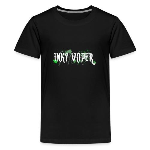 Inky Vaper Hoodie - Teenage Premium T-Shirt