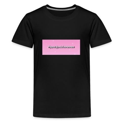Spookynichememes - Teenage Premium T-Shirt