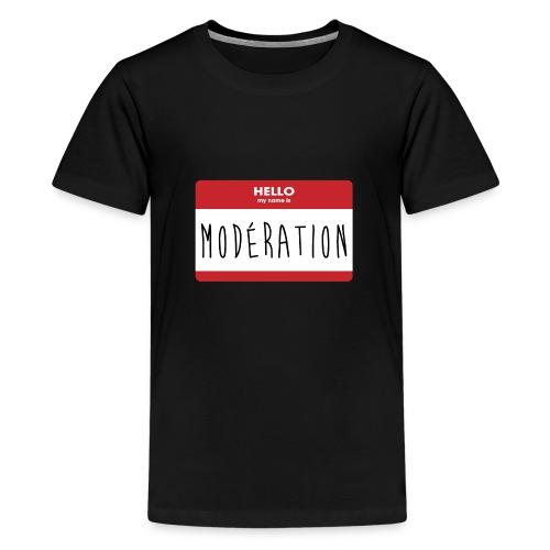Modération - T-shirt Premium Ado
