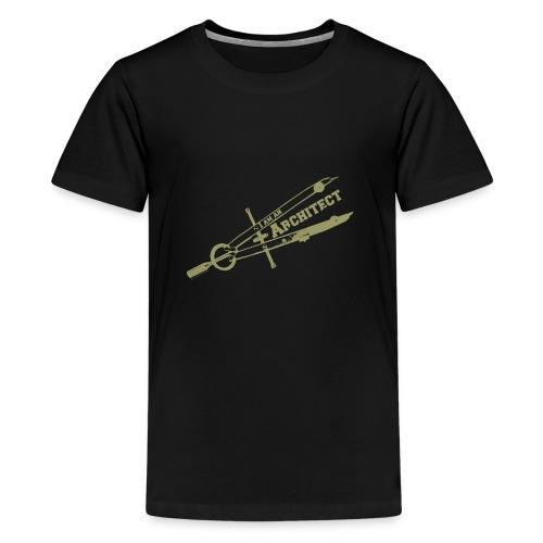 Im-an-Architect_Stefan_Li - Premium-T-shirt tonåring