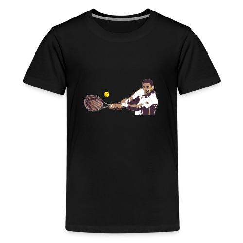 Tennis coup droit 2 mains - T-shirt Premium Ado