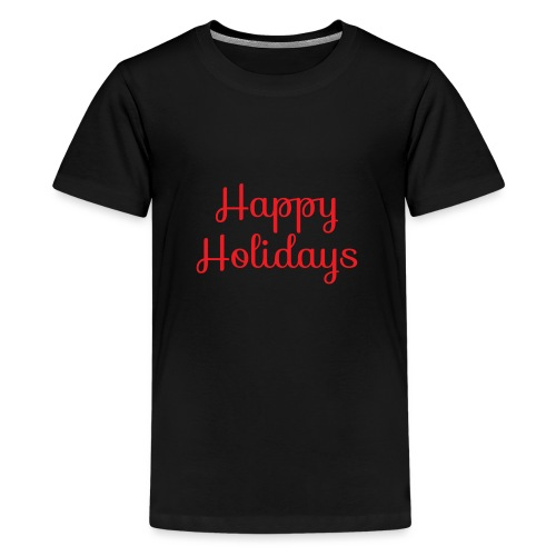 Cool happy holidays Christmas - Teenage Premium T-Shirt