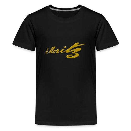 St. Moritz Schweiz Souvenir - Teenager Premium T-Shirt