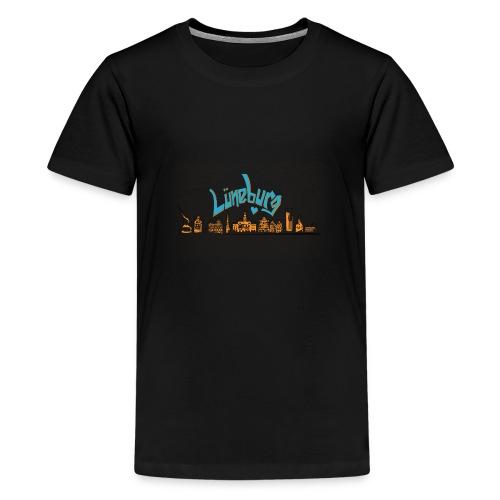 Lüneburg Design by deisoldphotodesign - Teenager Premium T-Shirt