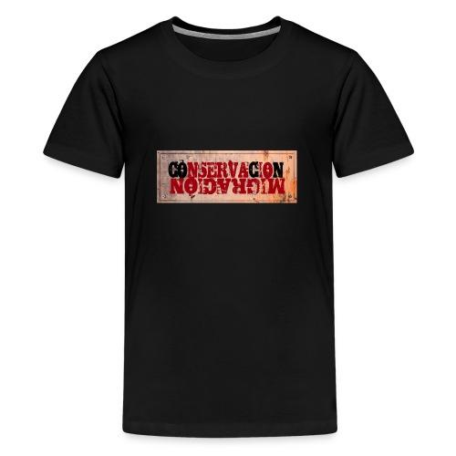 CONSERVACIÓN MIGRACIÓN - Camiseta premium adolescente
