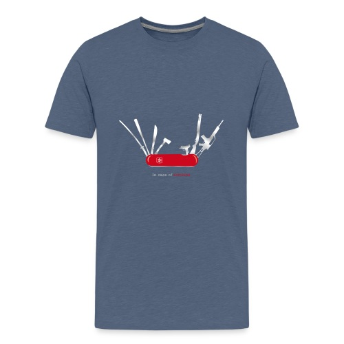 In case of zombies - Teenager Premium T-Shirt