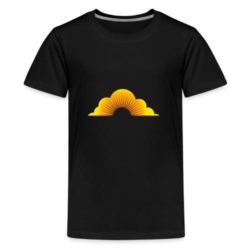 sunny cloud - Teenager Premium T-Shirt