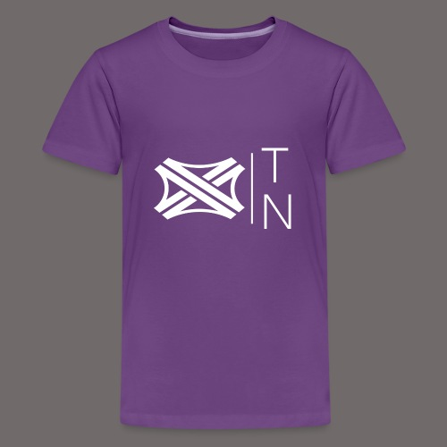 Tregion logo Small - Teenage Premium T-Shirt