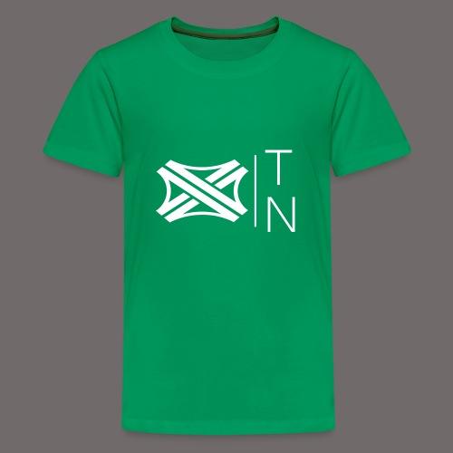 Tregion logo Small - Teenage Premium T-Shirt