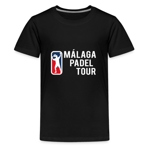 Málaga Padel Tour - Camiseta premium adolescente