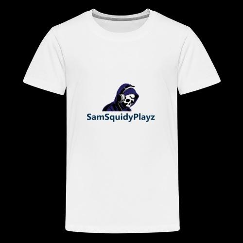 SamSquidyplayz skeleton - Teenage Premium T-Shirt