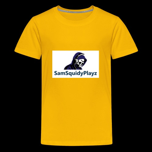 SamSquidyplayz skeleton - Teenage Premium T-Shirt