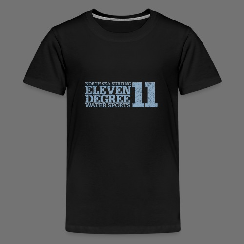 eleven degree light blue (oldstyle) - Teenage Premium T-Shirt