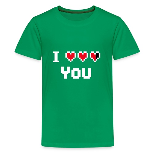 I pixelhearts you - Teenager Premium T-shirt