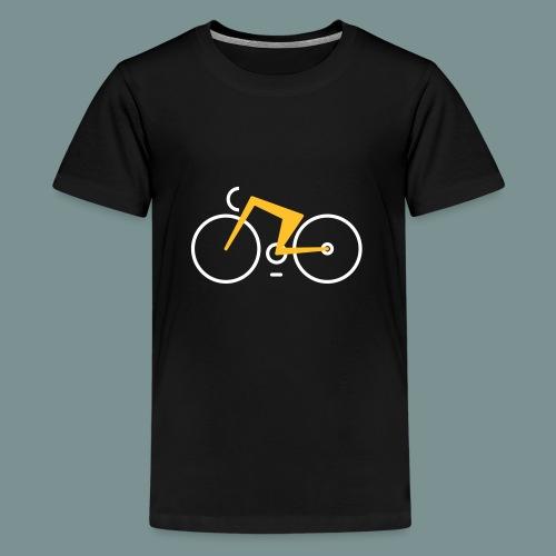 Bikes against cancer - Teenager premium T-shirt