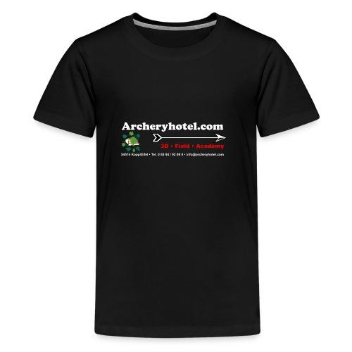 shirt_ruecken - Teenager Premium T-Shirt
