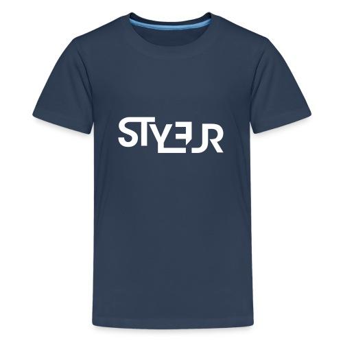 styleur logo spreadhsirt - Teenager Premium T-Shirt