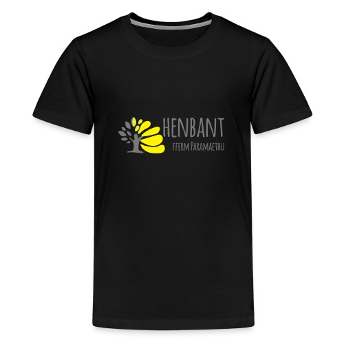 henbant logo - Teenage Premium T-Shirt