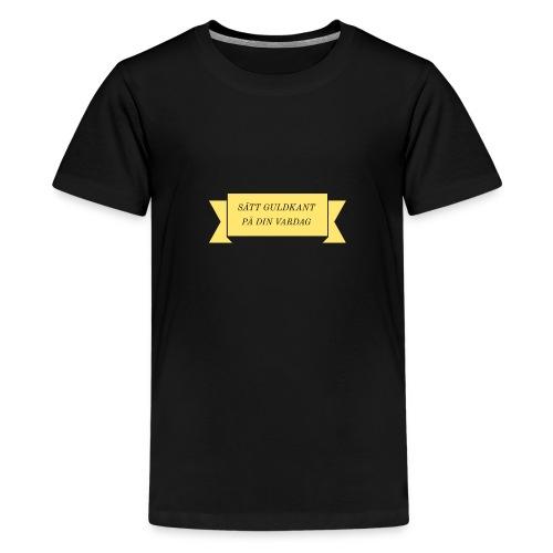 Adobe Post 20190226 121822 - Premium-T-shirt tonåring