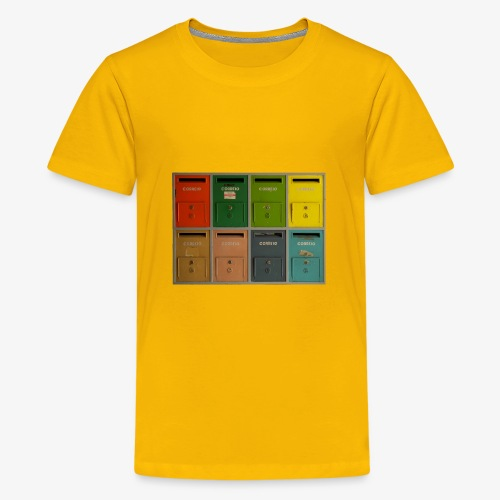 Briefkasten - Teenager Premium T-Shirt