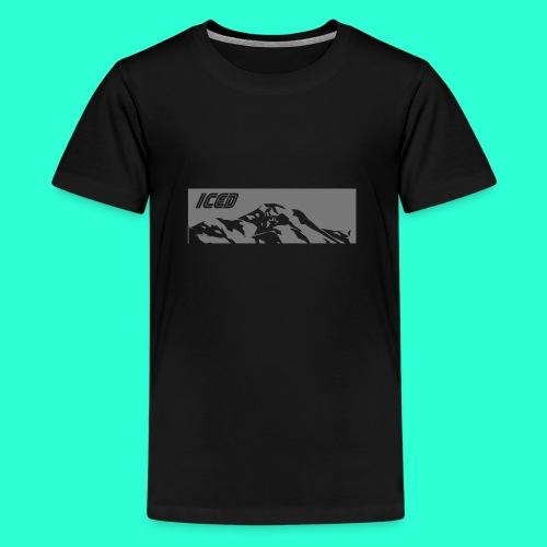 Mountain white - T-shirt Premium Ado
