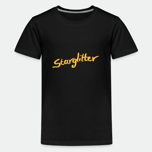 Starglitter - Lettering - Teenage Premium T-Shirt