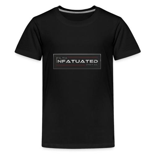 Filth Infatuated Digital - Teenage Premium T-Shirt