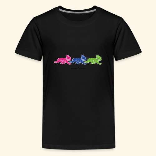 frenchies multicolor - T-shirt Premium Ado