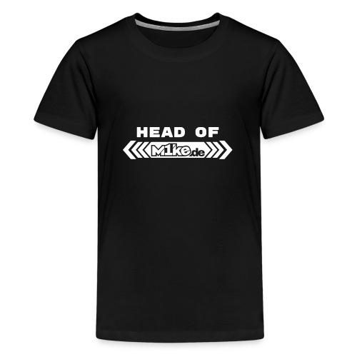 Logo headof CAP produktion png - Teenager Premium T-Shirt