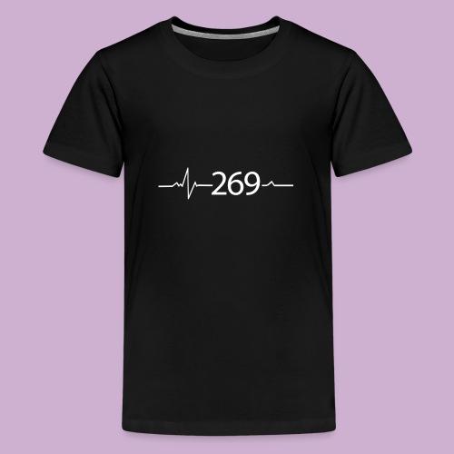 269 - RESPEKTIERE LEBEN - Teenager Premium T-Shirt