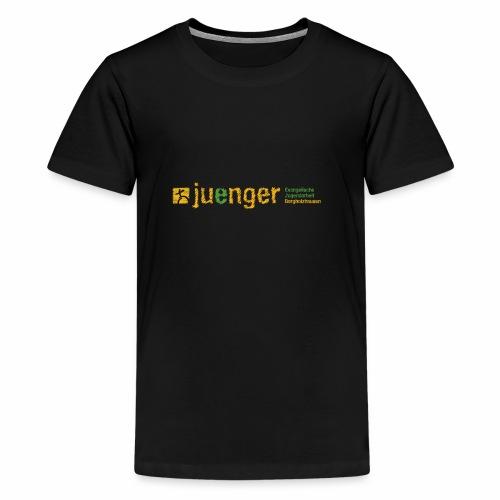 logo ev jugendarbeit borg - Teenager Premium T-Shirt