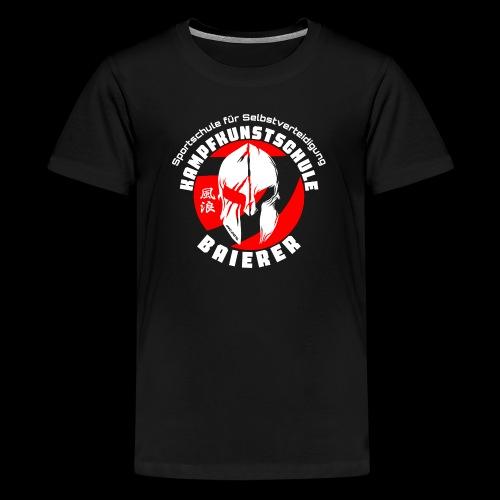 Kampfkunstschule Baierer Kollektion 2021 - Teenager Premium T-Shirt