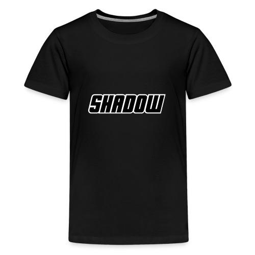 Logo Shadow Letters - Teenager Premium T-shirt