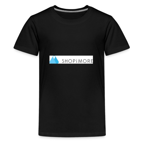 Logo SHOPiMORE - Teenager Premium T-Shirt