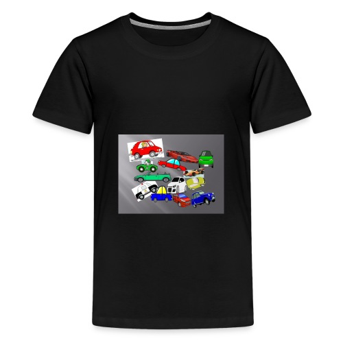 cars - Teenage Premium T-Shirt
