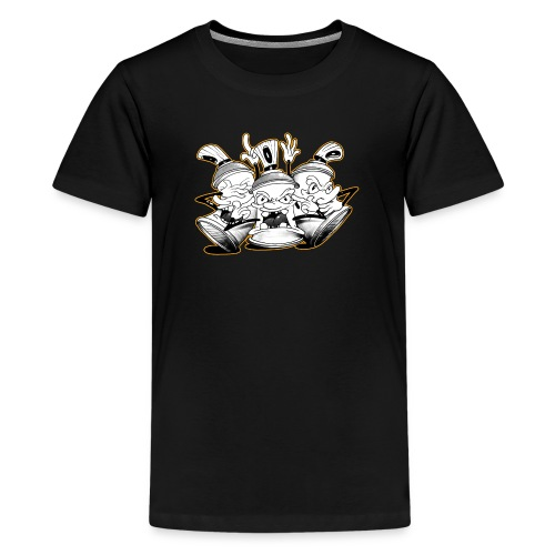 see no evil tim timmey ver01 - Teenager premium T-shirt