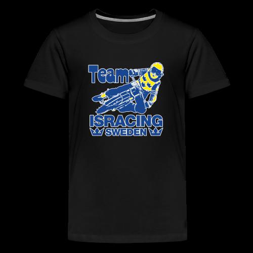Team ISRACING SWEDEN - Premium-T-shirt tonåring