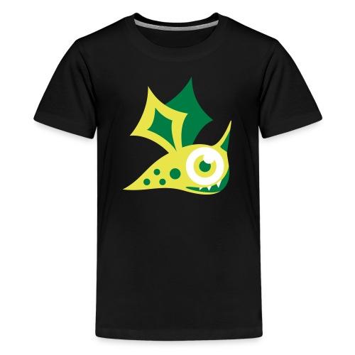Monster grün - Teenager Premium T-Shirt