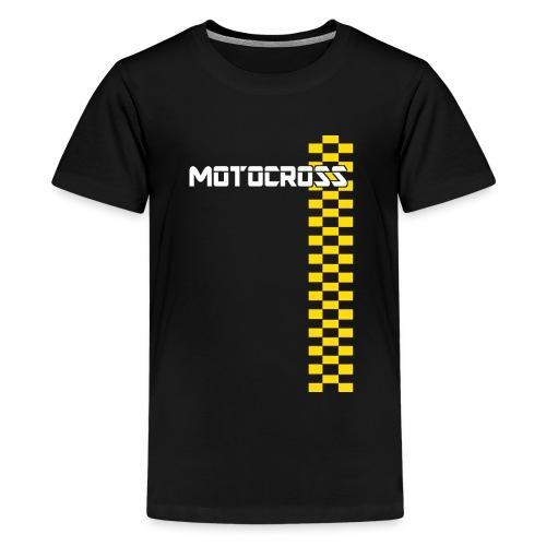 motocross - T-shirt Premium Ado
