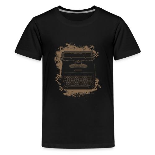 Typewriter - T-shirt Premium Ado
