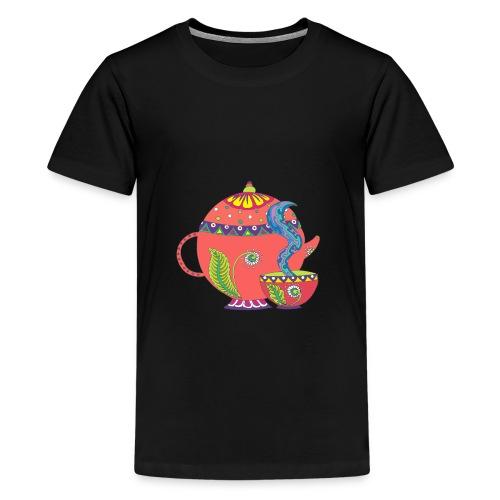 L'heure du thé - T-shirt Premium Ado