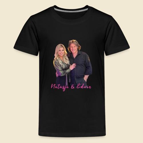 Natasja & Edwin - Teenager Premium T-shirt