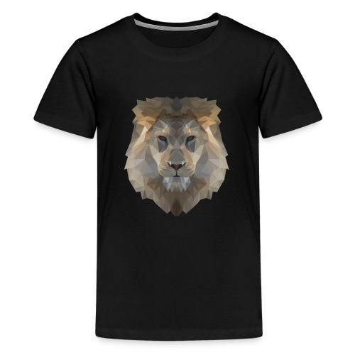 Lion head only - Teenager Premium T-Shirt