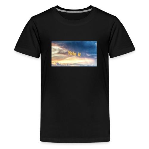 Sub to my YouTube channel - Teenage Premium T-Shirt