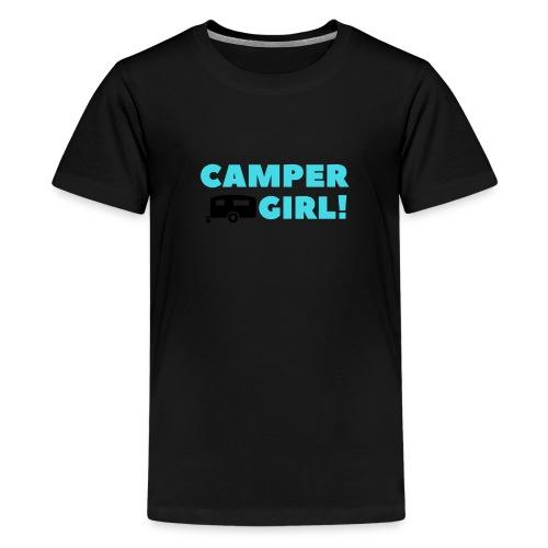 CAMPER Girl - Teenager Premium T-Shirt