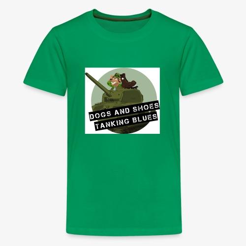 logo dogs nieuw - Teenager Premium T-shirt