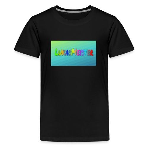 Kyllinge steam navn - Teenager premium T-shirt