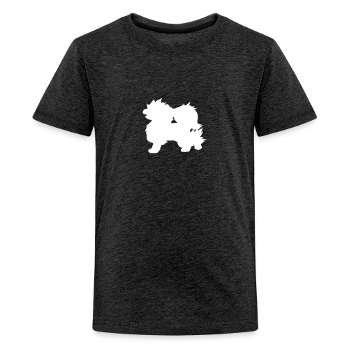 All white Arcanine Merch - T-shirt Premium Ado