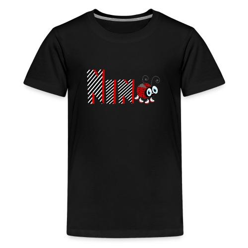 9nd Year Family Ladybug T-Shirts Gifts Daughter - Teenager Premium T-Shirt