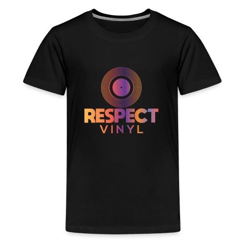 Disco Sisco • Respect Vinyl - Teenager Premium T-Shirt